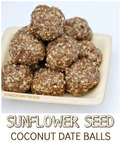 Sunflower Seed Cocon