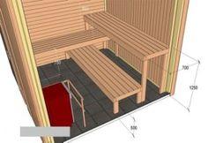 Diy Sauna, Indoor Sauna, Sauna Heater, Sauna Design, Sauna Room, Outdoor Chairs, Outdoor Decor, Pool Designs, Contemporary Furniture