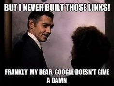 Oh..oh.. how the link building landscape has changed