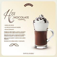 Baileys Hot Chocolate #recipe