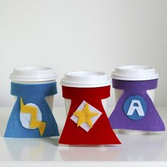 Superhero Cup Cozies That'll Save the Day  | Spoonful