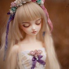#bjd #leekeworld #flowers #doll