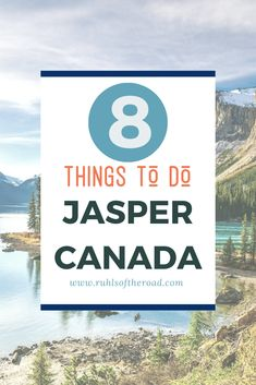 Jasper is full of waterfalls wildlife lakes mountains valleys and even hot springs! We put together the 8 best things to do in Jasper National Park! Travel Advice, Travel Guides, Travel Tips, Jasper National Park, National Parks, Quebec, Montreal, Vancouver, Toronto