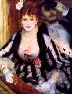 The box - Pierre-Auguste Renoir