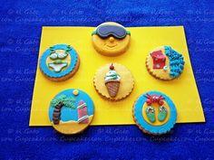 Galletas verano / Summer cookies