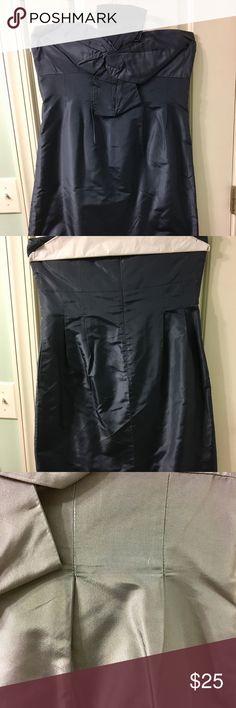 Jcrew Navy silk dress size 12 Jcrew Navy silk dress size 12 J. Crew Dresses Mini