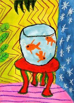 Matisse Goldfish Artwork by emma3887