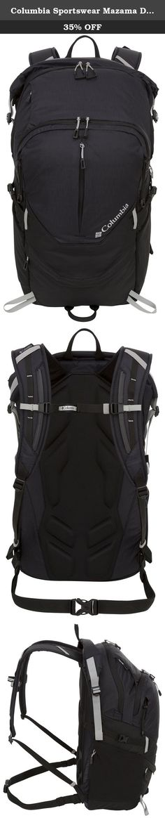 Columbia Sportswear Mazama Daypack (Black). Were constantly testing our products in the worst conditions all around the world to make our products perform even better. Explore how we test, and share your toughest moments of testing here. The Mazama Daypack comes with a lifetime warranty, and boasts a 22.9L (1397 cubic inch capacity. Patented Omni-Shield delivers protection from outdoors where you least expect it but need it most. This coa.