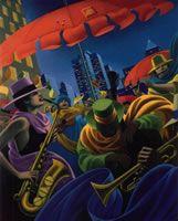 People - Claude Theberge Paintings
