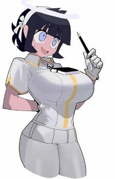Anime Girl Hot, Kawaii Anime Girl, Anime Art Girl, Manga Girl, Thicc Anime, Anime Comics, Character Art, Character Design, Super Anime
