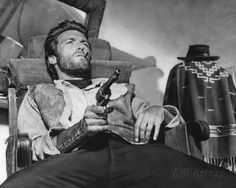 A FISTFUL OF DOLLARS - Clint Eastwood is armed and ready - Directed by Sergio Leone - United Artists - Publicity Still.