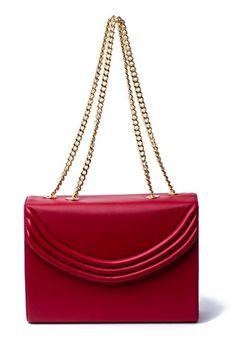 The elegant Mezza in a classic lipstick red is the perfect bag to fit all your basics and transition from day to night; can be worn as double strap, Red Media, Red Lipsticks, Cross Body, Women Accessories, Crossbody Bag, Shoulder Bag, Jewels, Handbags, Purses
