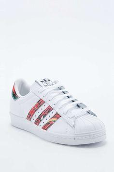Adidas - Baskets Rita Superstar 80s blanches