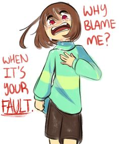 """""""After all sense when were you the one in control"""" doesn't mean chara is it means the player is in control of frisk Undertale Comic, Memes Undertale, Undertale Drawings, Undertale Fanart, Toby Fox, Underswap, Fandoms, Chef D Oeuvre, Fan Art"""