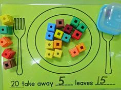 Subtraction activity