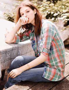 Anaïs Pouliot MiH Jeans S/S 2013 lookbook