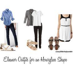 Eleanor Outfits for an Hourglass Shape
