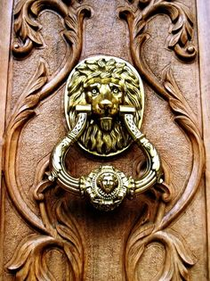 Lannister door knocker
