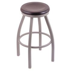 Holland Bar Stool Misha 25 in. Swivel Counter Stool with Wood Seat Dark Cherry Maple - 80225ANDCMPL