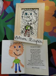 Cadeau Parents, Fathers Day Crafts, Mamas And Papas, Mother And Father, Happy Mothers Day, Activities, Frame, Cards, Gifts