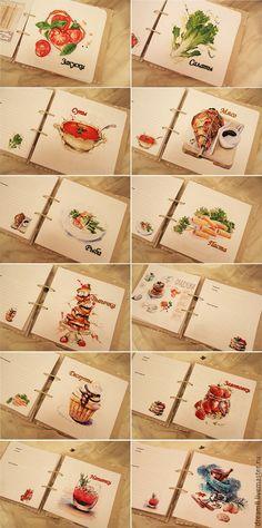 """Купить Кулинарная книга """"Дом, милый дом"""" - бежевый, кулинарная книга, кулинарный блокнот, кулинария"""