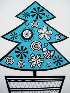 Jane Foster Blog: Turquoise Christmas designs