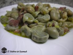 El universo de sassenach: HABITAS BABY CON JAMÓN (THERMOMIX) Top Recipes, Sprouts, Curry, Fruit, Vegetables, Food, Dishes, Recipes With Vegetables, Legumes