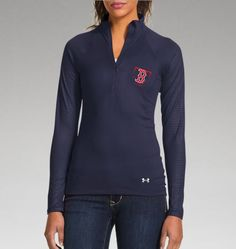 Women's Boston Red Sox UA Tech™ 1/2 Zip