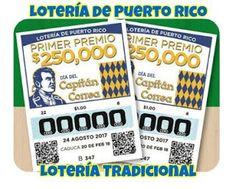 #LoteríaTradicional de Puerto Rico números ganadores del Jueves 24 de Agosto 2017. El Primer premio fue para el billete 41161, mas detalles entra aquí.