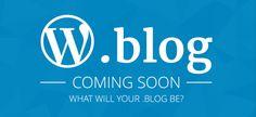 WordPress.com vai oferecer domínio .blog ainda este ano. http://www.michellhilton.com/2016/05/wordpress-vai-oferecer-dominio-blog-ainda-este-ano.html