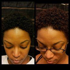 colored natural hair | Shea Moisture Hair Color - CurlyNikki Forums