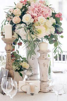 Свадьба Александра и Александры в итальянском стиле, флористика