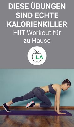 The 10 best HIIT exercises for at home - with workout plan Exercise belly, fitness workouts and - Here we show you 10 HIIT exercises that are perfect for losing weight. You will also find an effective HIIT training plan for men and women here. Fitness Workouts, Fitness Motivation, At Home Workouts, Yoga Fitness, Physical Fitness, Kids Fitness, Fitness Women, Hiit Training Plan, Insanity Workout