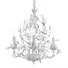 Gallery T40-39 Majesty Wrought Iron and Crystal Chandelier