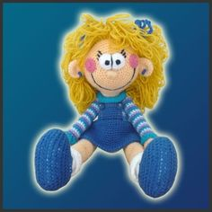 Amigurumi Häkelanleitung häkeln  Polly die von DeliciousCrochet, $6.20