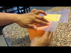 ▶ Quick tip on how to make sharp edges for your cakes - YouTube