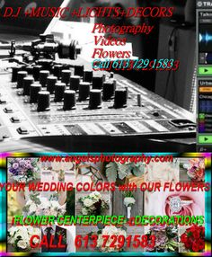 Dj Music, Budget Wedding, Video Photography, Ottawa, Wedding Colors, Budgeting, Weddings, Videos, Color Scheme Wedding