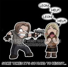 resident evil 4 funny photo