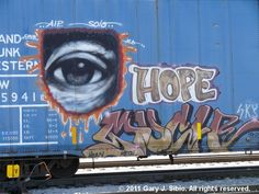 Graffiti on Boxcar (2011-04-23 11-28-32) © 2011 Gary J. Sibio. All rights reserved. Click on photo for details.