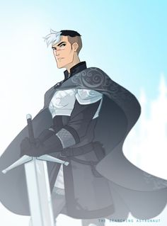 Shiro for the Dragon AU - by thesearchingastronaut