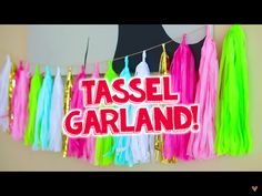 Mylifeaseva Tassel Garland