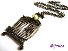 Hey, I found this really awesome Etsy listing at https://www.etsy.com/listing/166184206/bird-cage-necklace-bird-necklace-bird