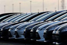 Flota samochodów...