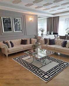 [New] The 10 Best Home Decor (with Pictures) – Very elegant decoration by Offf Maşallah e … Home Living Room, Apartment Living, Living Room Decor, Living Furniture, Home Decor Furniture, Decor Interior Design, Interior Decorating, Minimalist Home, Home Goods