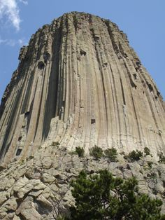 Devils Tower, Wyoming.  This place is awesome.  You have to walk around the base of the tower. We went for an hour and stayed for three. Wow - Sept. 2012