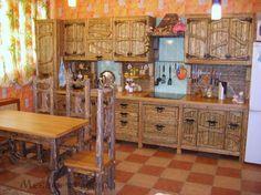 """Кухня под старину """"Вавилония"""""""