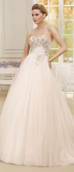 168€ Amazon schönes weißes Brautkleid Hochzeitskleid Brautkleider ...