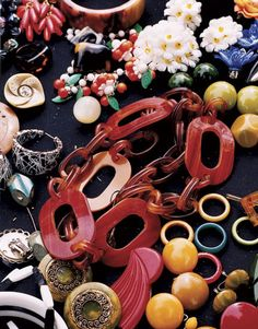 Bakelite and celluloid jewelry
