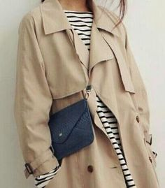 Classic mariniere, classic trench