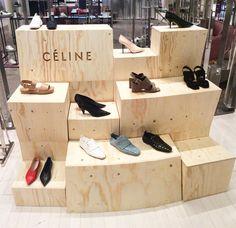 "Brown thomas, dublin, ireland, ""nature always wears the colors of the Shoe Display, Display Design, Jewellery Display, Shoe Store Design, Shoe Shop, Market Displays, Merchandising Displays, Fashion Showroom, Shop Fittings"